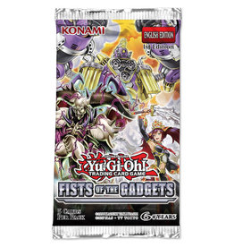 Yu-Gi-Oh YGO Fists of the Gadgets Booster