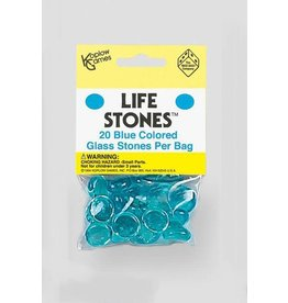 Koplow Life Stones Glass Blue