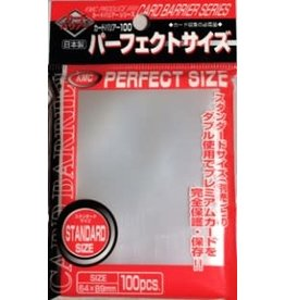 KMC KMC Perfect Fit Sleeves - Clear (100 pack)