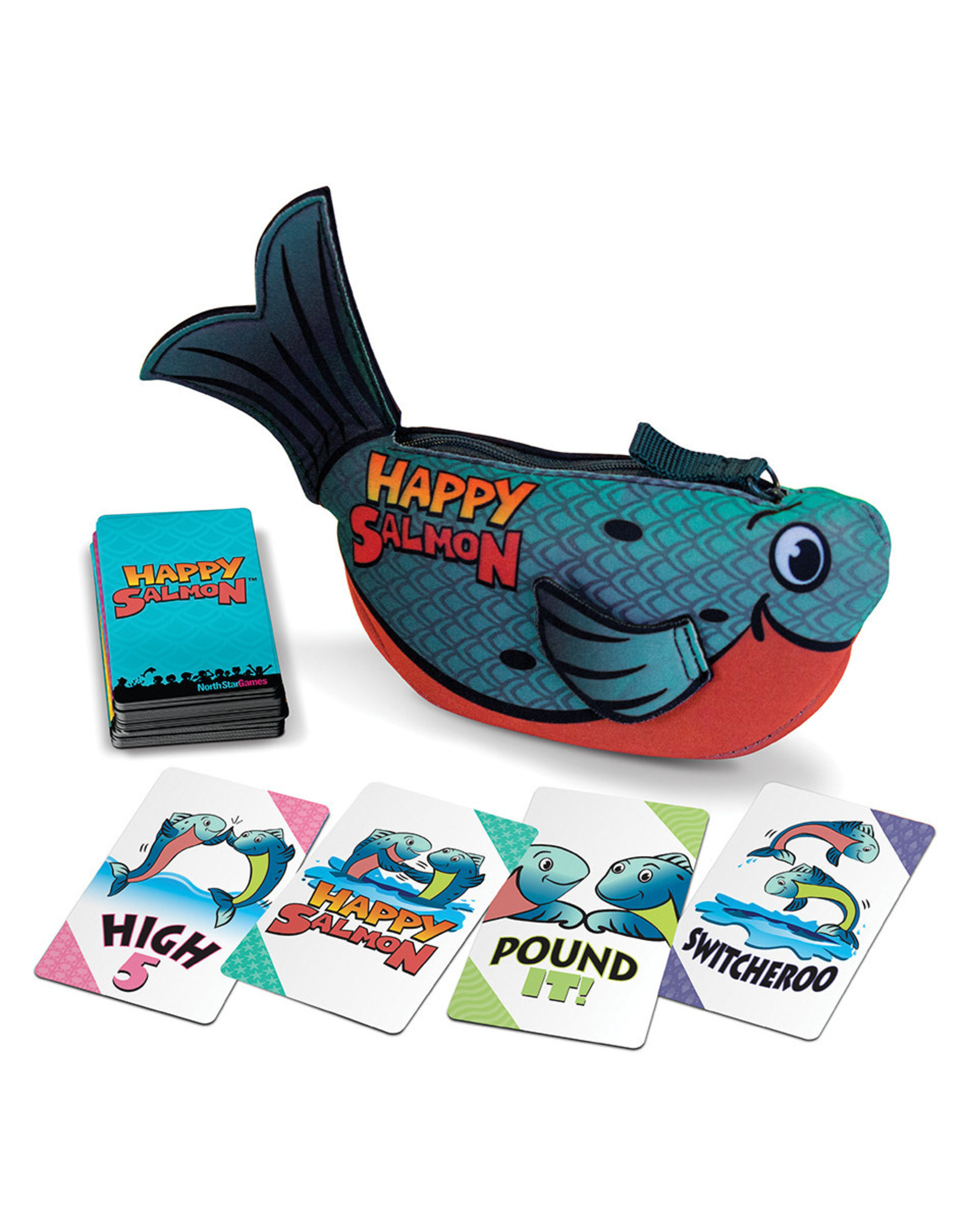 North Star Games Happy Salmon Blue Fish