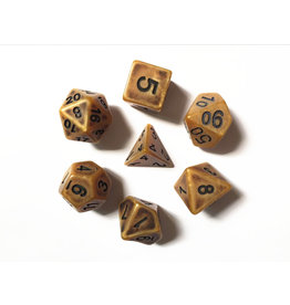 HD Dice 7-Set Ancient Gold w/Black (HD)