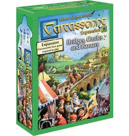 Z-MAN Games Carcassonne 8 Bridges Castles Bazaars