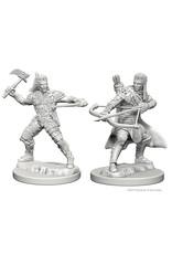 WizKids D&D Minis (unpainted): Human Ranger (male) Wave 1, 72635