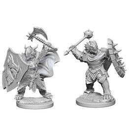 WizKids D&D Minis (Unpainted)  Dragonborn M Paladin