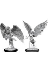 WizKids D&D Minis (unpainted): Harpy & Aarakocra Wave 11, 90026