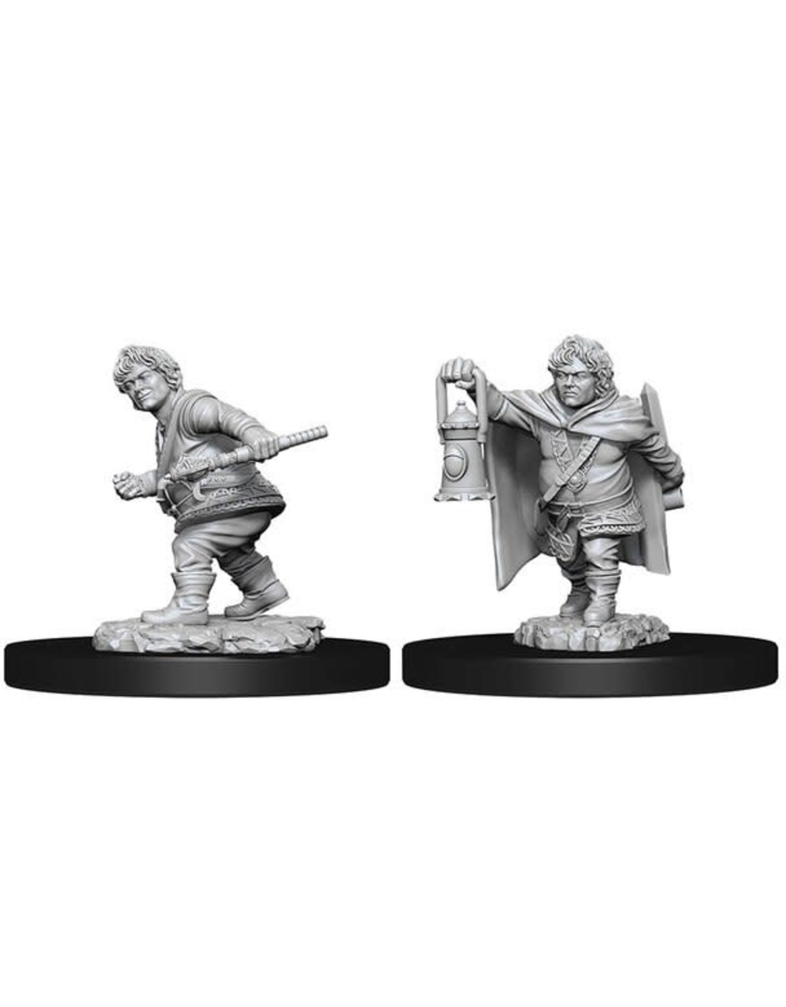 WizKids D&D Minis (unpainted): Halfling Rogue (male) Wave 11, 90006