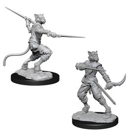 WizKids D&D Minis (unpainted): Tabaxi Rogue (male) Wave 7, 73540