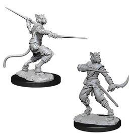 WizKids D&D Minis (unpainted): Tabaxi Rogue (male)