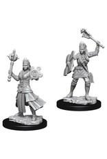 WizKids D&D Minis (unpainted): Human Cleric (female) Wave 8, 73671