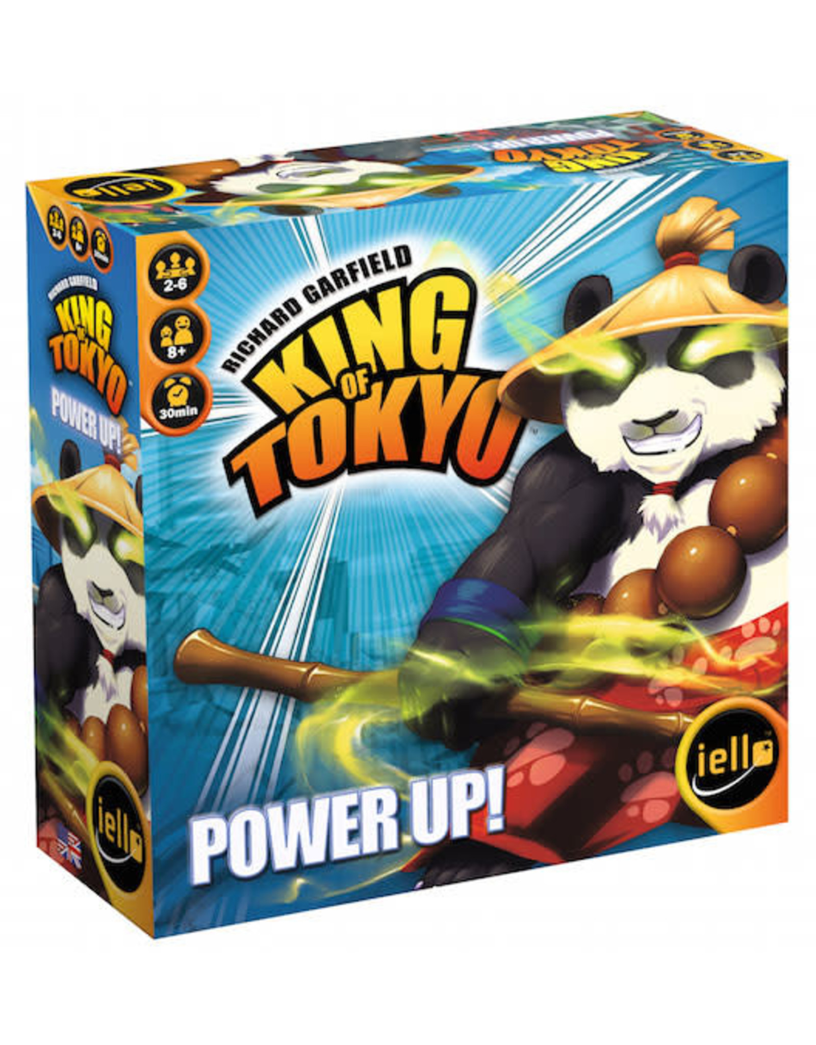 Iello King of Tokyo 2nd Edition Power Up