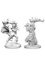 WizKids Pathfinder Minis (unpainted): Human Cleric (female) Wave 1, 72601