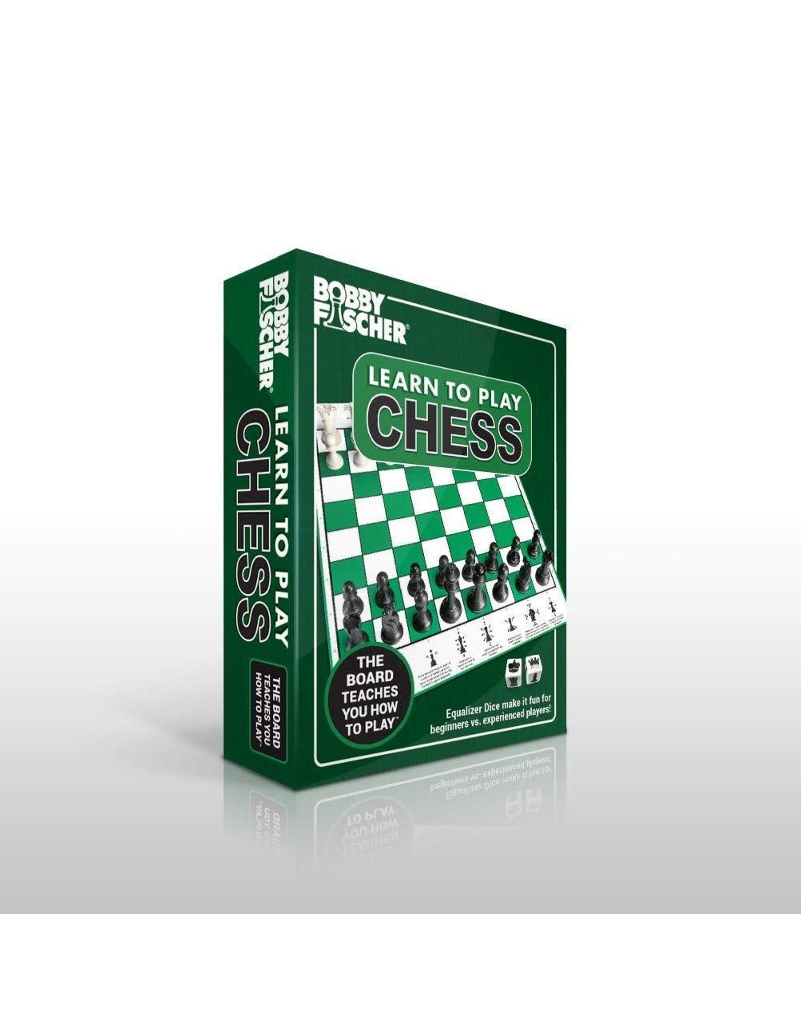 Wood Expressions Bobby Fischer Learn to Play Chess Set