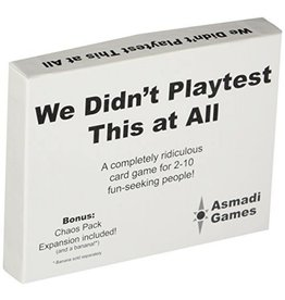 Asmadi Games We Didn't Playtest This at All