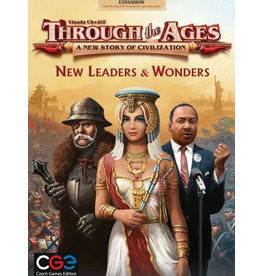 Czech Games Edition Through the Ages New Leaders & Wonders