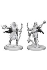 WizKids Pathfinder Minis (unpainted): Elf Sorcerer (male) Wave 1, 72605