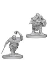 WizKids D&D Minis (unpainted): Dwarf Fighter (female) Wave 2, 72617