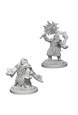 WizKids D&D Minis (unpainted): Dwarf Cleric (female) Wave 4, 72625