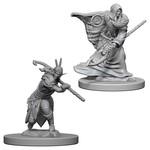WizKids D&D Minis (unpainted): Elf Druid (male) Wave 4, 72641