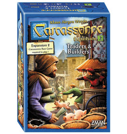 Z-MAN Games Carcassonne 2 Traders and Builders Expansion