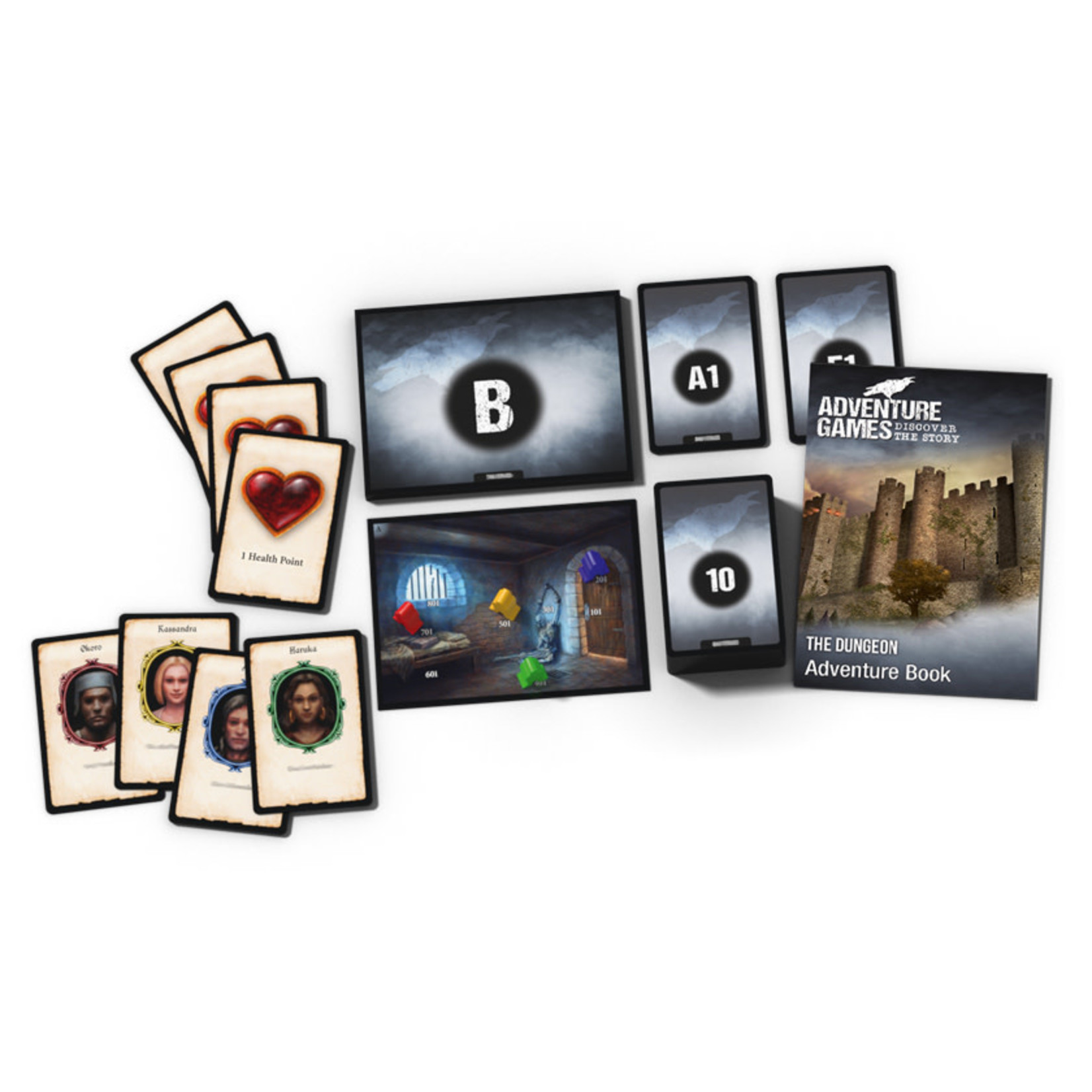 Kosmos Adventure Games The Dungeon