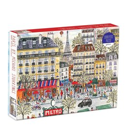 Galison Paris by Michael Storrings - 1000 Piece Jigsaw Puzzle