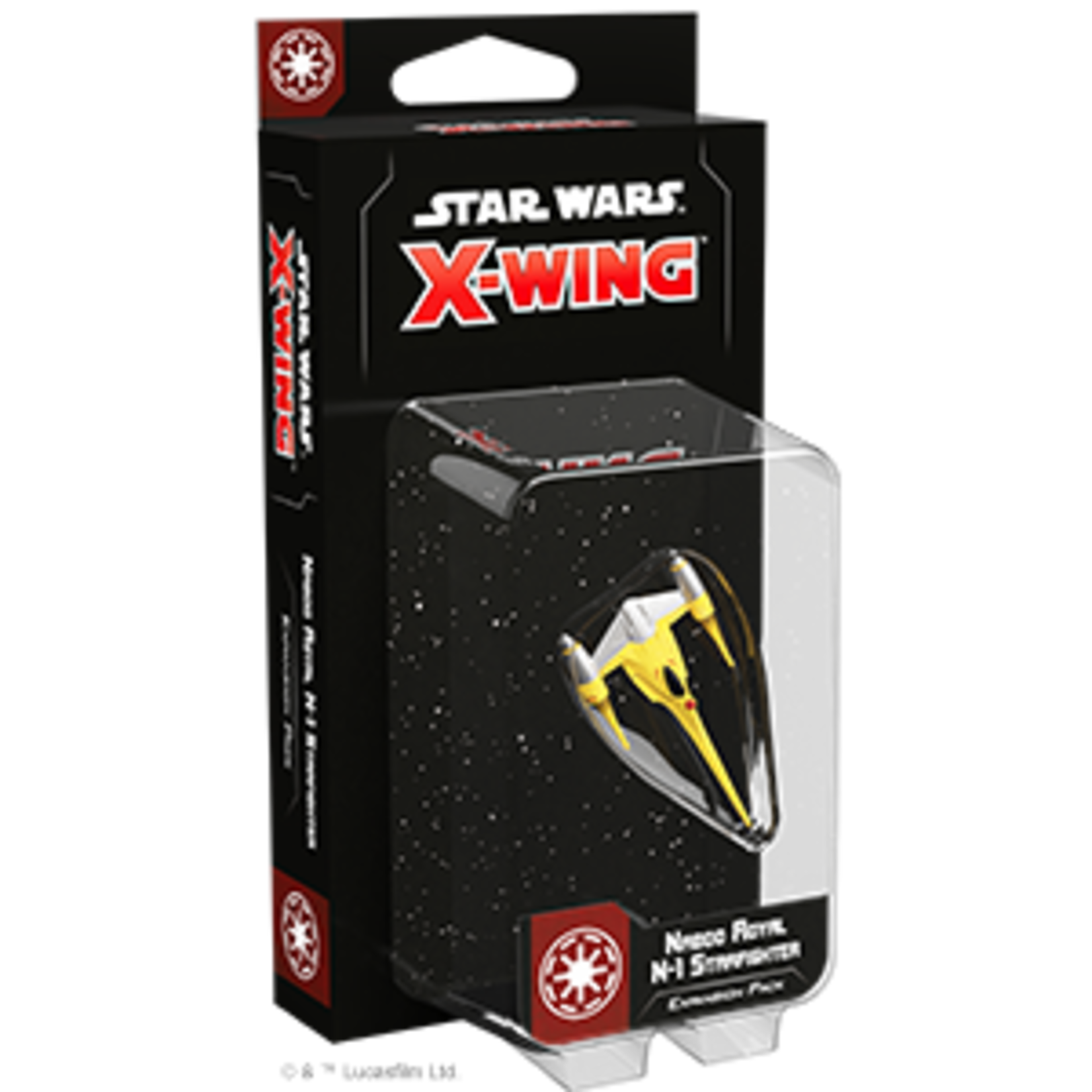 Fantasy Flight Games Star Wars X-Wing 2nd Edition: Naboo Royal N-1 Expansion Pack