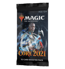 Magic: The Gathering MTG M21 Draft Booster Pack