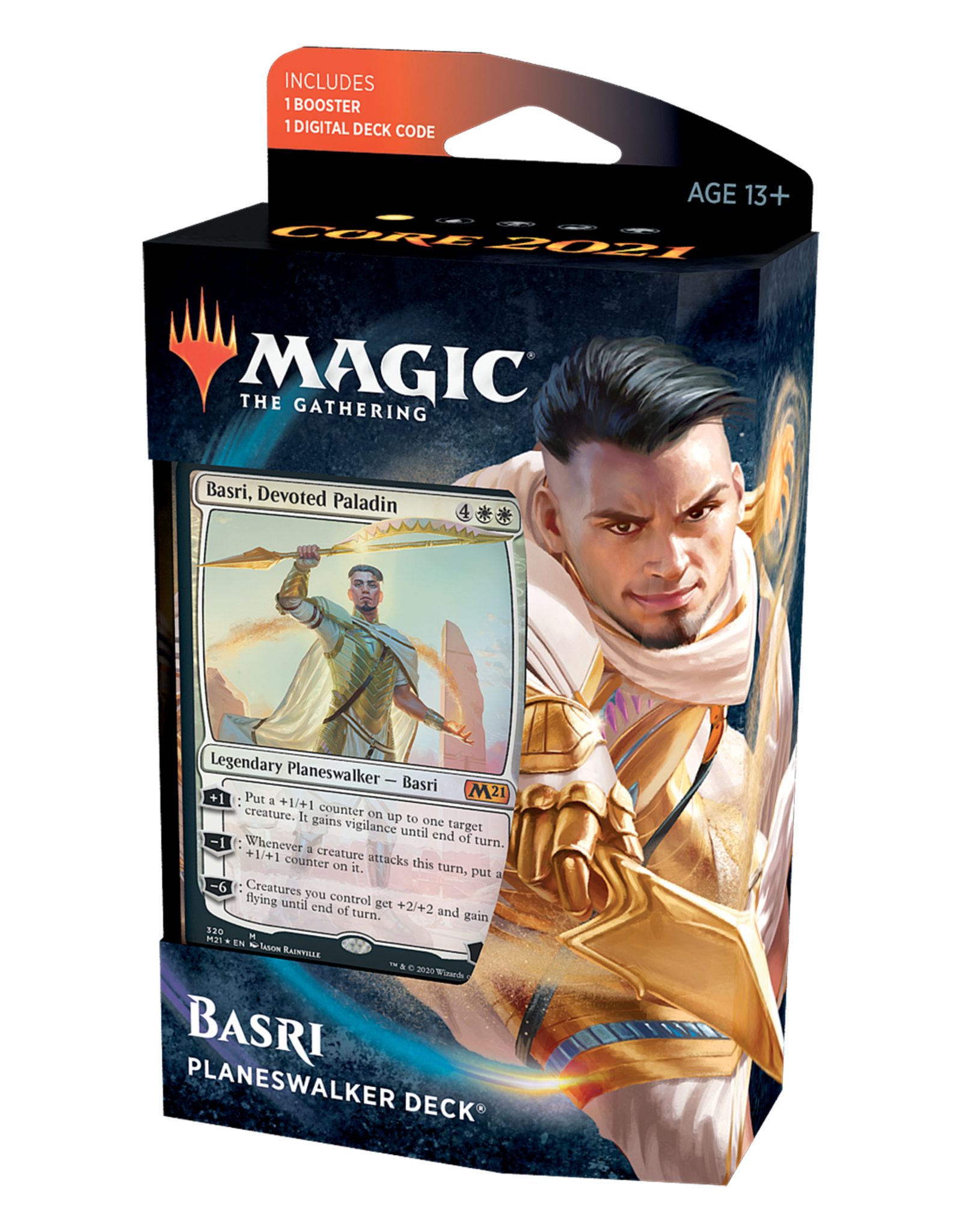 Magic: The Gathering Magic: The Gathering - Core Set 2021 - Planeswalker Deck - Basri