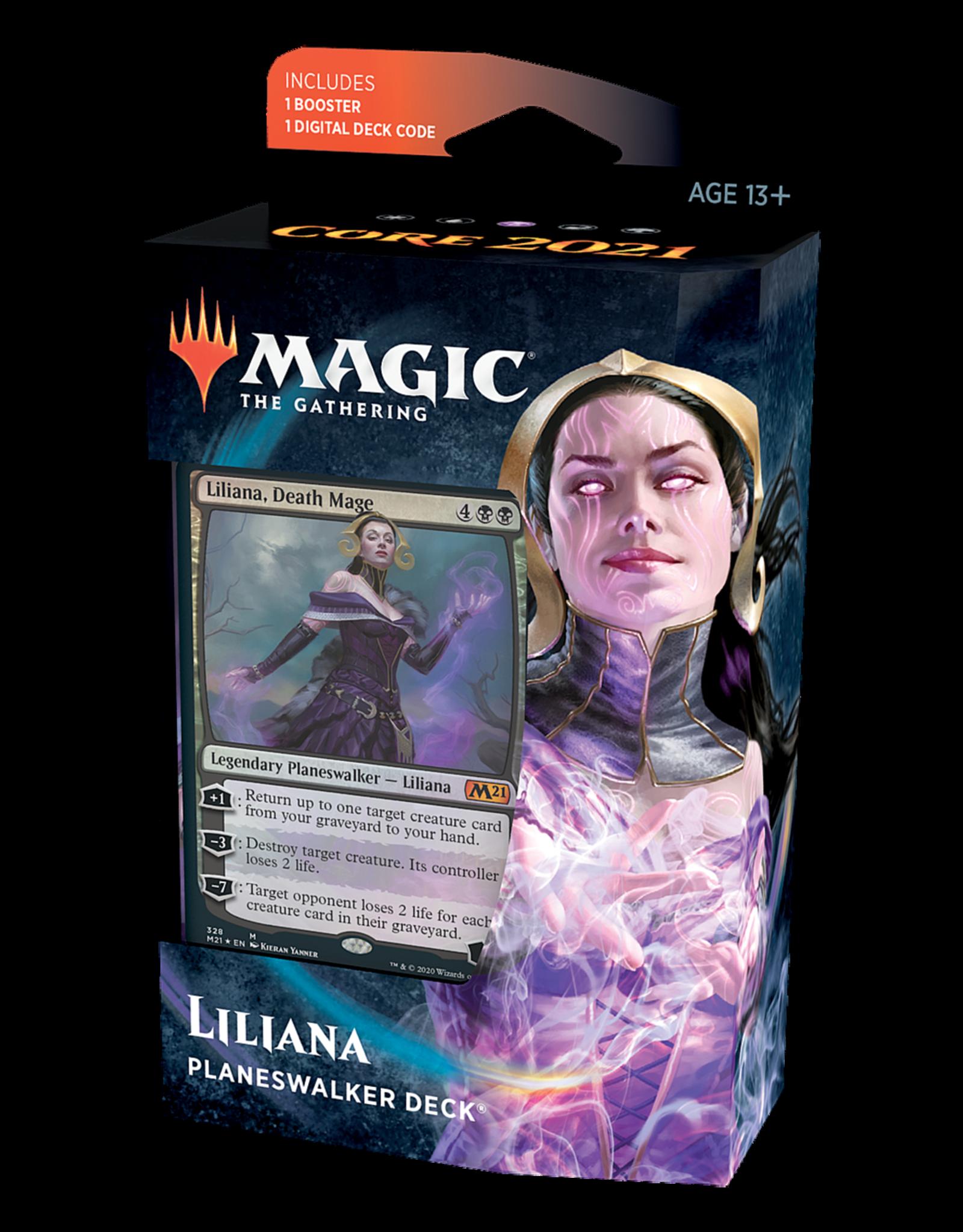 Magic: The Gathering Magic: The Gathering - Core Set 2021 - Planeswalker Deck - Liliana