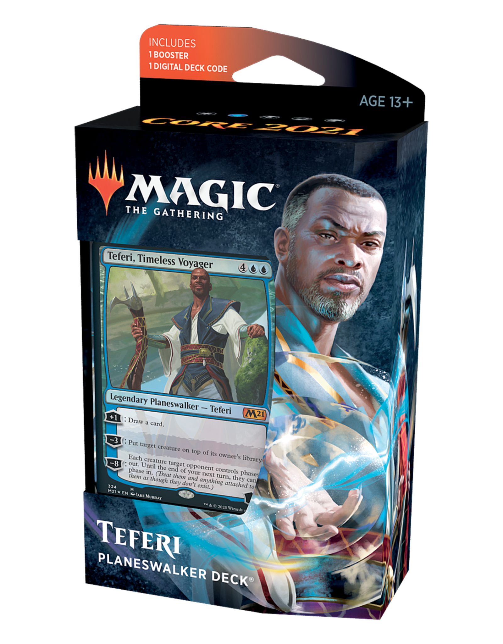 Magic: The Gathering Magic: The Gathering - Core Set 2021- Planeswalker Deck - Teferi
