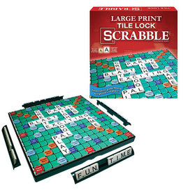 Winning Moves Scrabble Large Print Tile Lock