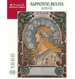 Pomegranate Alphonse Mucha Zodiac 1000p