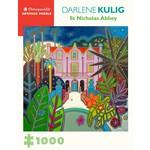 Pomegranate Darlene Kulig St. Nicholas Abbey - 1000 Piece Jigsaw Puzzle