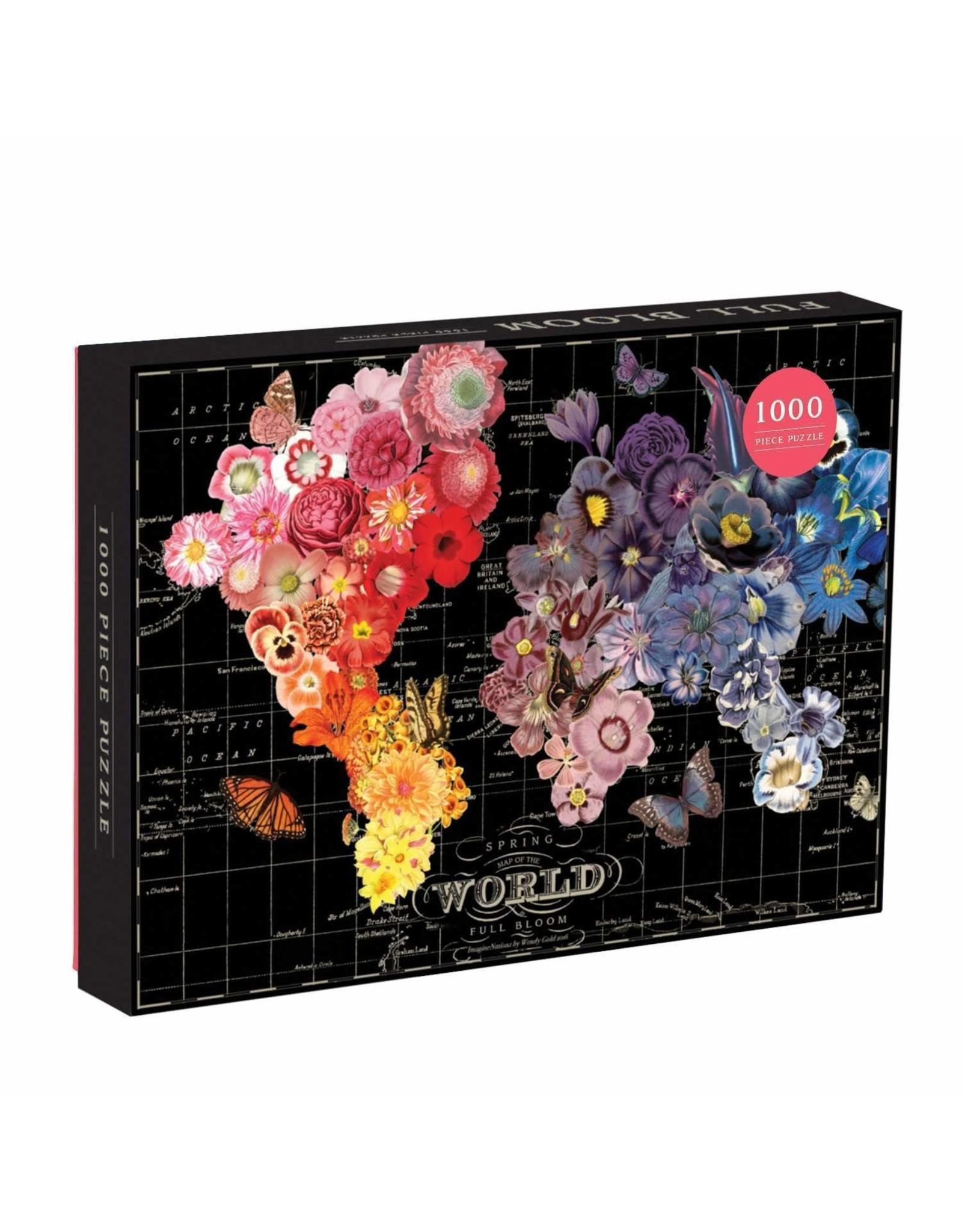 Galison Wendy Gold Full Bloom 1000p