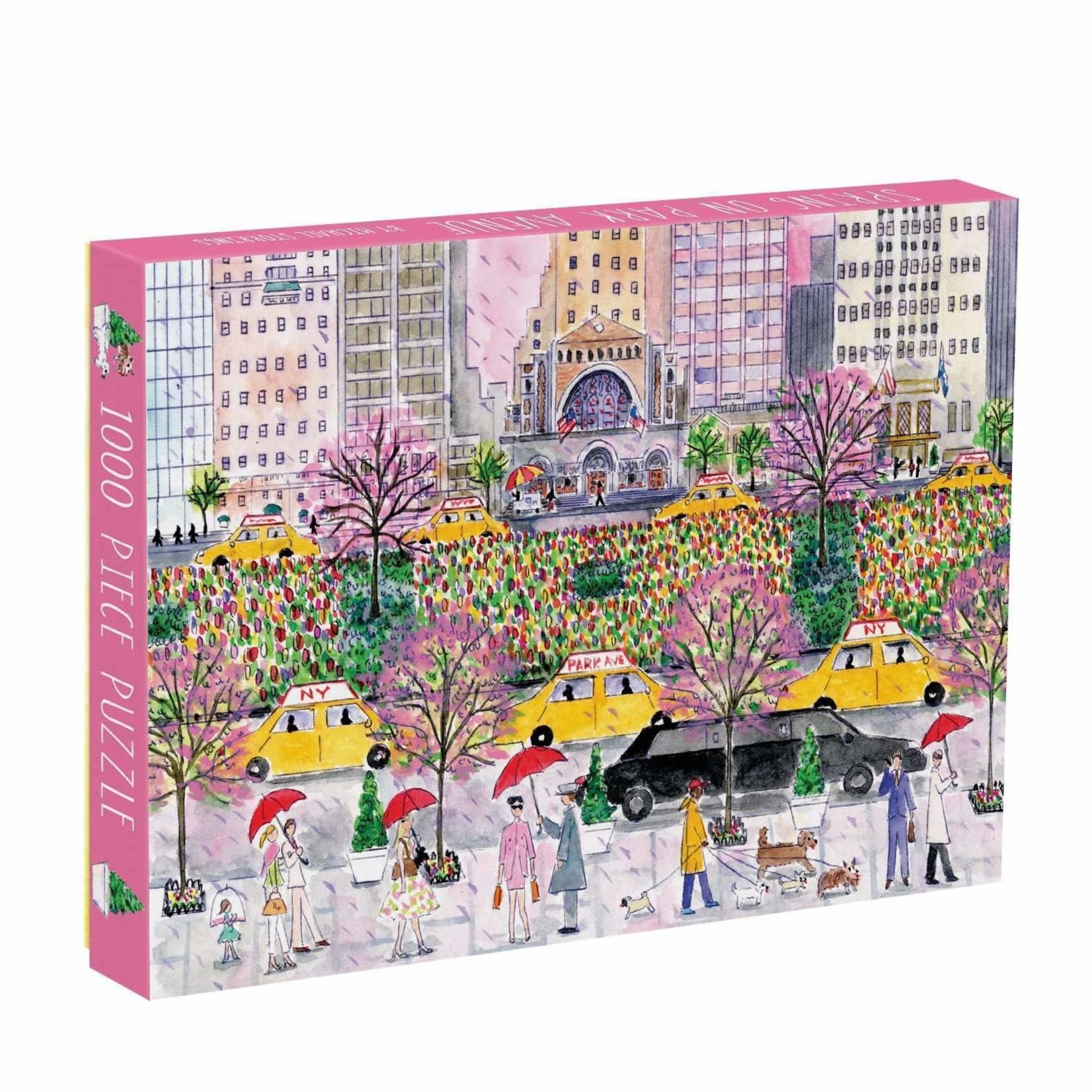 Galison Spring on Park Avenue - 1000 Piece Jigsaw Puzzle