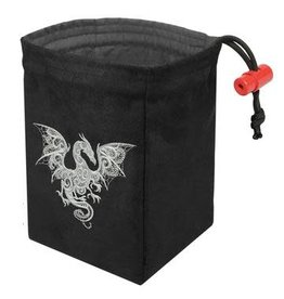 Red King Co Dice Bag Embroidered Baroque Smoke Dragon