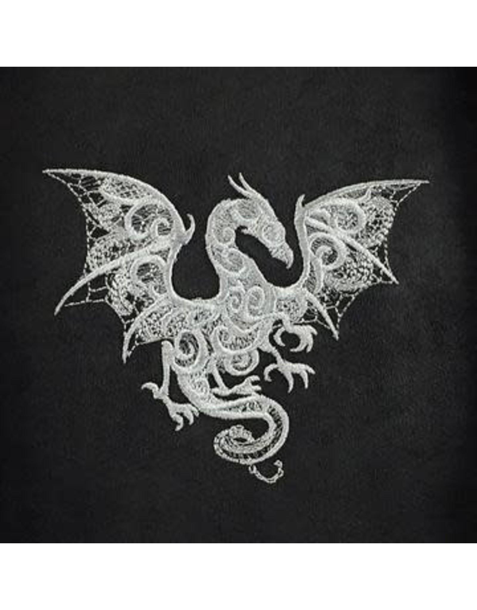 Red King Co Dice Bag Embroidered Baroque Smoke Dragon