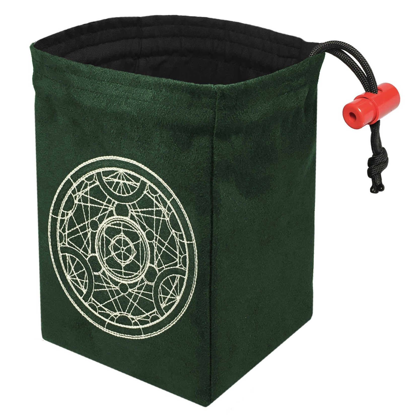 Red King Co Dice Bag Glow in the Dark Alchemy Medallion