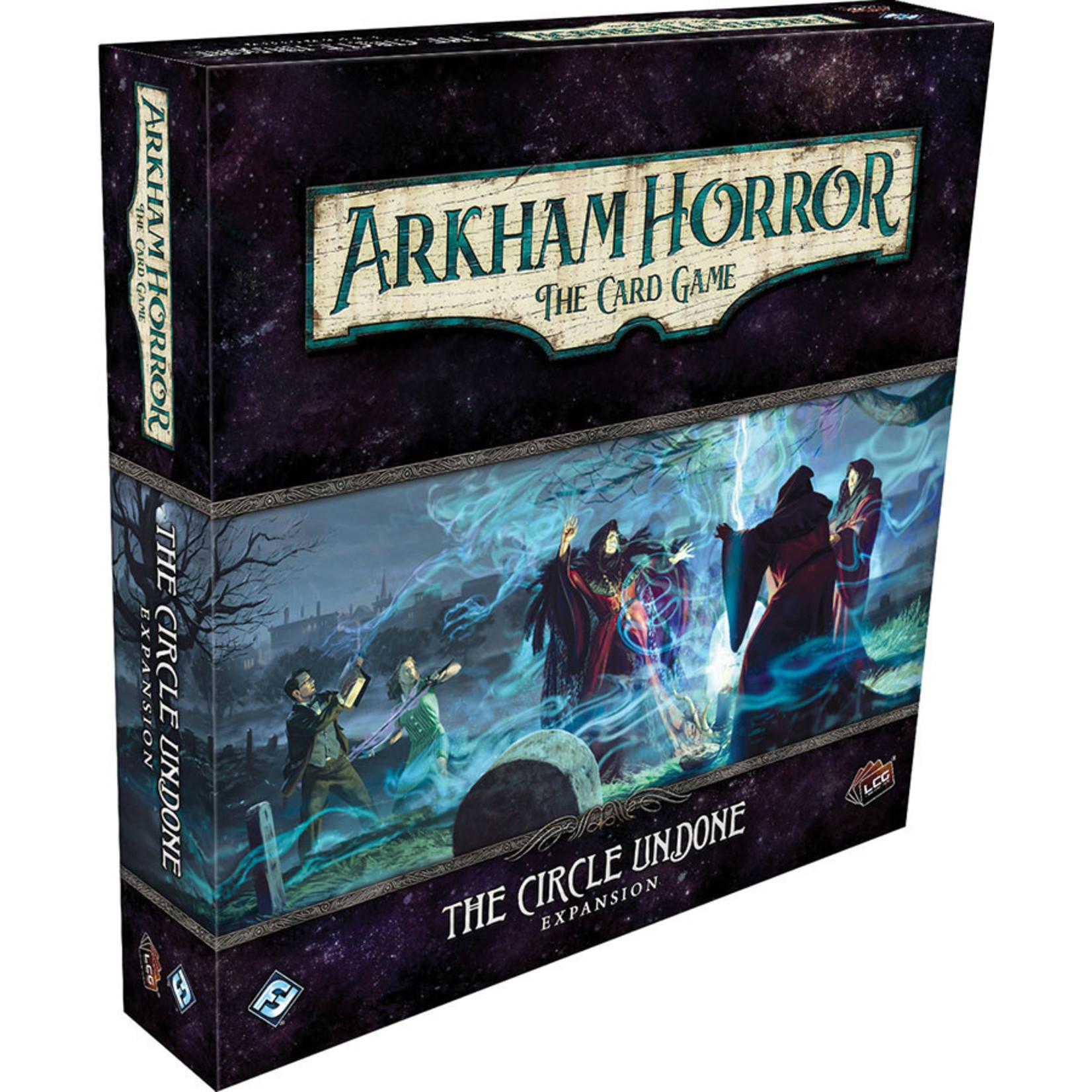 Fantasy Flight Games Arkham Living Card Game The Circle Undone