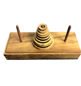 Creative Crafthouse Tower of Hanoi 9 Ring Large