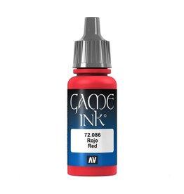 Vallejo Ink: Red 72.086