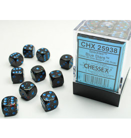 Chessex Chessex: Speckled Blue Stars d6 Dice (36)