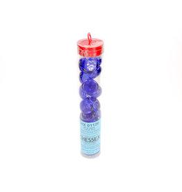 Chessex Chessex: Dark Blue Glass Stones Tube