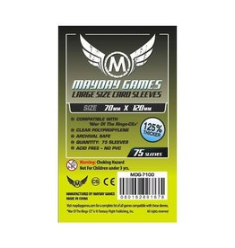 Mayday Games Inc. Mayday: Deck Protector Sleeves 70mmx120mm (75)