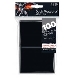 Ultra Pro Ultra Pro: Deck Protector Solid Black Sleeves (100)