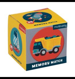Mudpuppy Mini Memory Match: Transportation