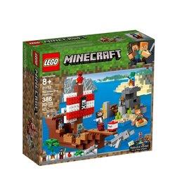 LEGO LEGO Minecraft The Pirate Ship Adventure