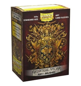 Dragon Shield Dragon Shield Art Brushed General Vicar Coat of Arms Sleeves (100 pcs)