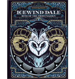 Wizards of the Coast D&D 5e Icewind Dale Rime of the Frostmaiden Alternate Cover