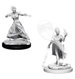 WizKids D&D Minis (unpainted): Fire Genasi Wizard (female)
